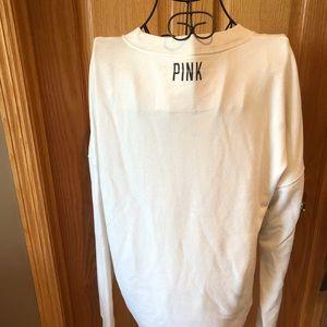 PINK Victoria's Secret Tops - Victoria's Secret Pink Sweatshirt